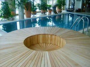 Puhkenurk saunas