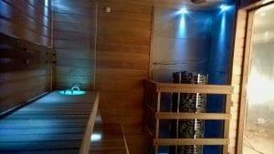 Valgustus saunas
