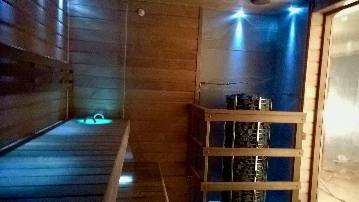 Led valgustus saunas