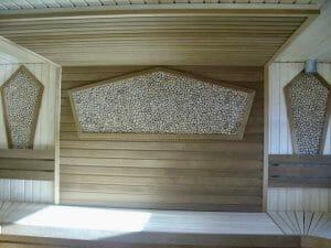 Kadakaplaat saunas