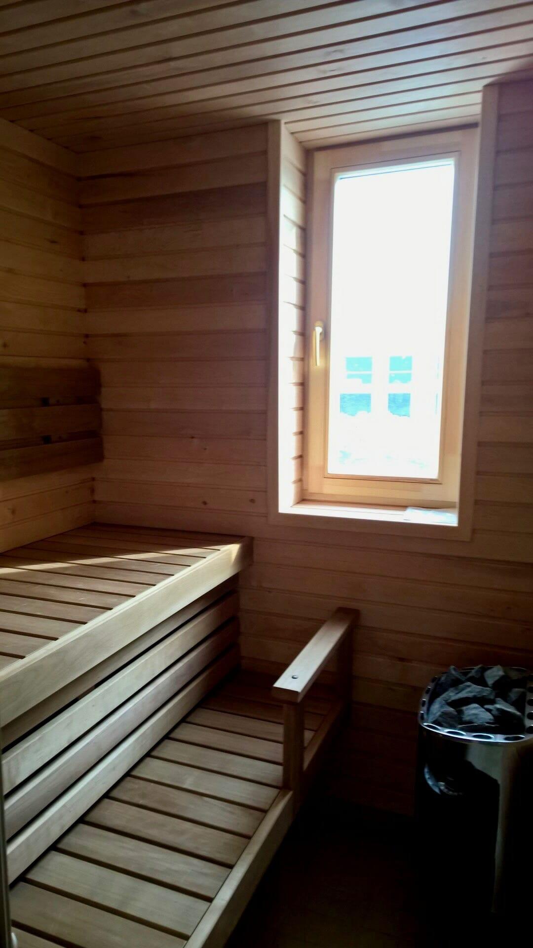 Väiksem saun korteris