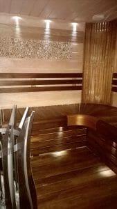 Led-valgustus saunas