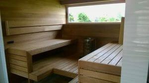 Sauna viimistlus