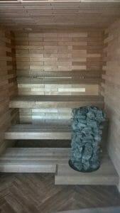 Erilahendusega saun